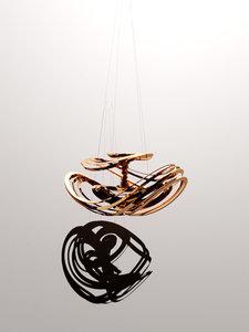 3D chaos pendants lorenz attractors