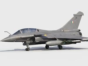 dassault rafale indian scheme 3D