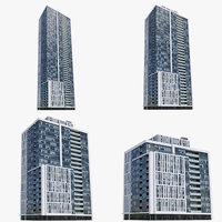ivory adelaide buildings 3D model
