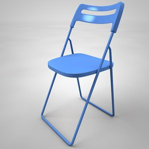 cafeteria chair 3D model