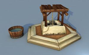 medieval water 3D