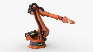 kuka 210 2 industrial robot 3D model
