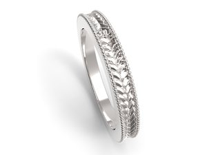 3D jewelry ring fashion