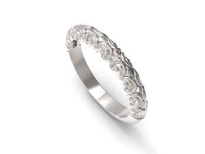 jewelry rings fashion model