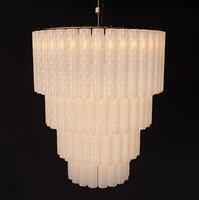 3D crystal ceiling lamp
