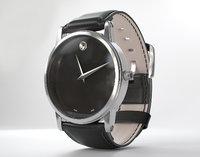3D movado watch model