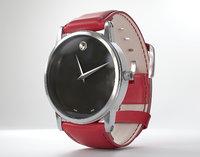 3D movado watch