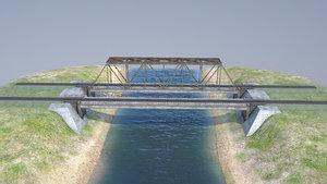 3D rw bridge vologda-ii