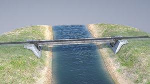 rw bridge vologda-ii mono 3D