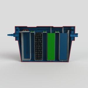 filter 3D model