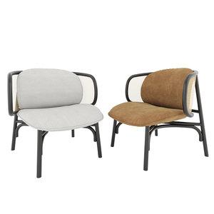 3D lounge chair thonet model
