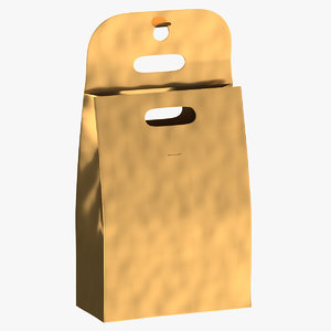 3D model recycled paper bags 02