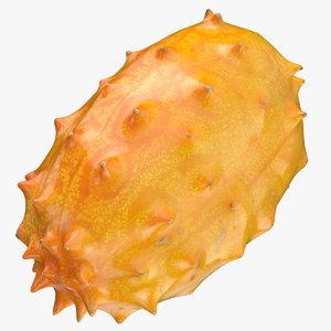 horned melon 04 3D model