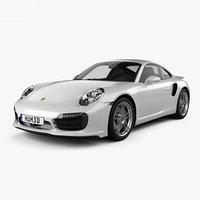 porsche 911 turbo 3D model
