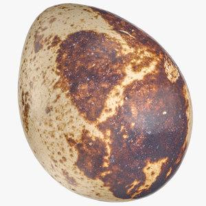 3D quail egg 03