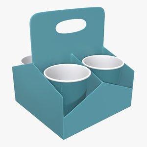 coffee holder plastic 3D model