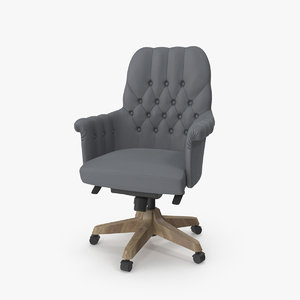 3D oxford chair