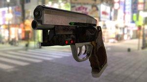 blade gun 3D
