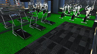 3D gym billard cafe fitness