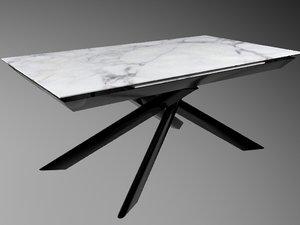 3D eclisse table model
