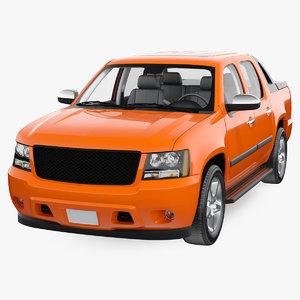 3D suv pickup generic model