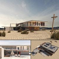 3D villa hawke model