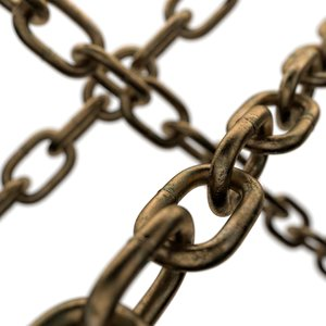 3D model old chain