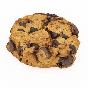 choco cookie 3D model