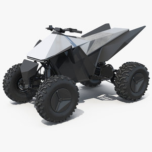 tesla atv cyberquad 3D model