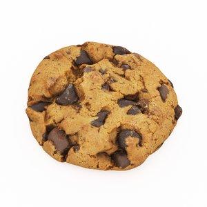 3D choco cookie