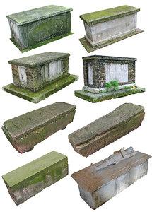 tomb pack 8 3D model