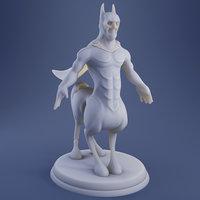 3D model centaurus - print