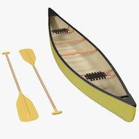 tripping canoe generic model