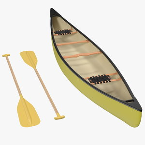 tripping canoe generic model