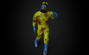 3D zombies character model
