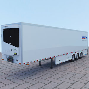 frigo semi trailer model
