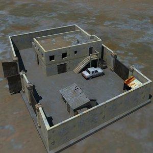 3d house truck