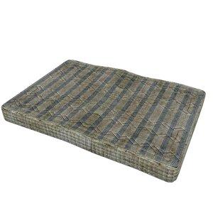 3D model old mattress 03
