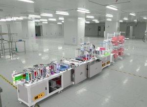 n95 mask production machine 3D model