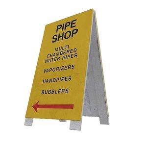 3D sidewalk signs 14