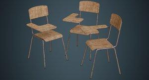 3D school chair 2b
