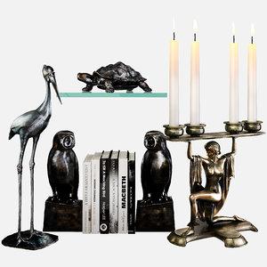 3D eichholtz accessories set