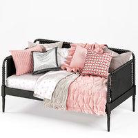 3D jenny lind daybed beds model