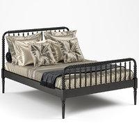 3D jenny lind bed