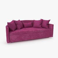Sofa Lounge Fuschia