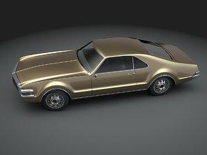 oldsmobile toronado 1968 3D model