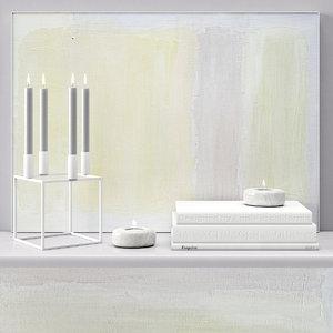 acrylic painting decor 3D model