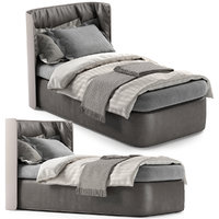 bed single 3D