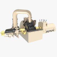 Siemens SST-5000 Steam turbine generator
