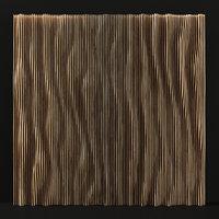Parametric wood panel Wave n1